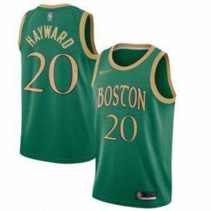 Boston Celtics Gordon Hayward Green City Jersey